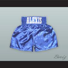 Alexis Argüello Blue Boxing Shorts