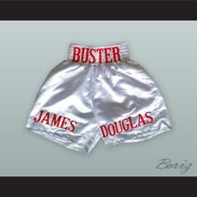 James 'Buster' Douglas White Boxing Shorts