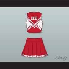 East High School Wildcats Cheerleader Uniform
