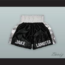 Jake LaMotta Black Boxing Shorts