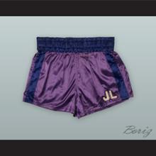Joe Louis Purple Boxing Shorts