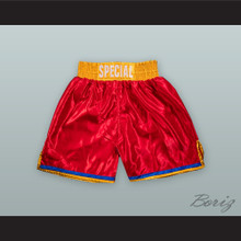 Kell 'The Special One' Brook Red Boxing Shorts