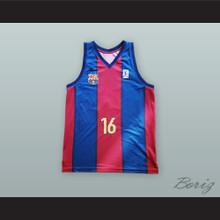 Pau Gasol 16 FC Barcelona Basketball Jersey