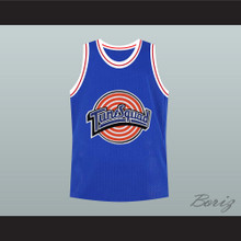 Bill Murray Space Jam Blue Tune Squad Basketball Jersey