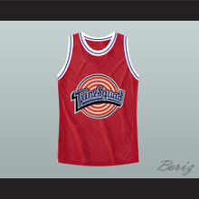 Bill Murray Space Jam Red Tune Squad Basketball Jersey