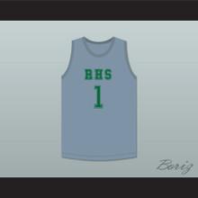 Terron Forte 1 RHS Gray Basketball Jersey Amateur