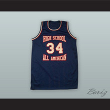 High School All American Basketball Jersey Custom Player and Number