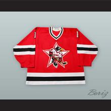 Vitali Yeremeyev 1 Russian Penguins Red Hockey Jersey