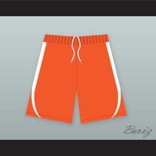 Harlem Money/ Buckets Orange Basketball Shorts Uncle Drew