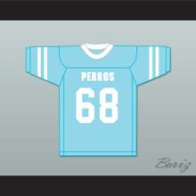 Combate 68 Santa Martha Perros (Dogs) Light Blue Football Jersey The 4th Company