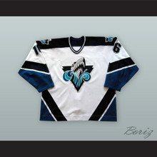 Erick Tremblay 16 Rimouski Oceanic White Hockey Jersey
