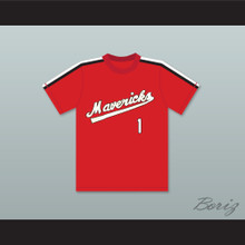 Jon Yoshiwara 1 Portland Mavericks Baseball Jersey The Battered Bastards of Baseball
