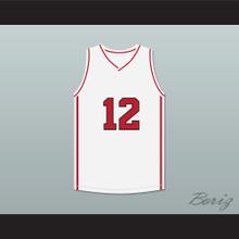 Drake 12 White Basketball Jersey High School Musical Skit MADtv