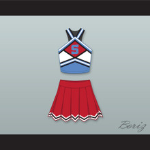 The East-West Coast Shets Cheerleader Uniform Bring It On: In It to Win It Design 5