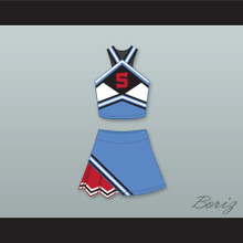 The East-West Coast Shets Cheerleader Uniform Bring It On: In It to Win It Design 7