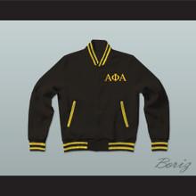 Alpha Phi Alpha Fraternity Varsity Letterman Jacket-Style Sweatshirt
