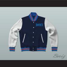Beta Theta Pi Fraternity Varsity Letterman Jacket-Style Sweatshirt