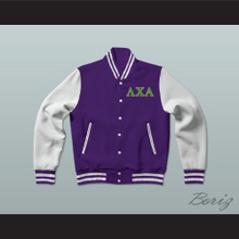 Lambda Chi Alpha Fraternity Varsity Letterman Jacket-Style Sweatshirt