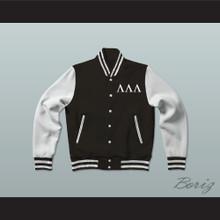 Lambda Lambda Lambda Fraternity Varsity Letterman Jacket-Style Sweatshirt