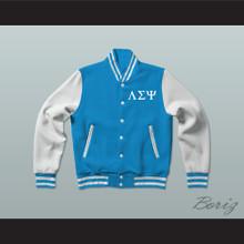 Lambda Sigma Upsilon Fraternity Varsity Letterman Jacket-Style Sweatshirt