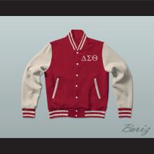 Delta Sigma Theta Sorority Varsity Letterman Jacket-Style Sweatshirt