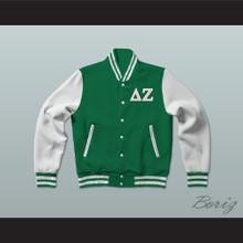 Delta Zeta Sorority Varsity Letterman Jacket-Style Sweatshirt