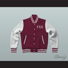 Gamma Sigma Sigma Sorority Varsity Letterman Jacket-Style Sweatshirt