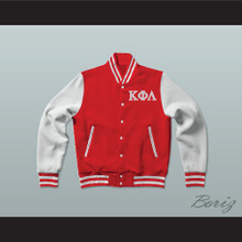Kappa Phi Lambda Sorority Varsity Letterman Jacket-Style Sweatshirt