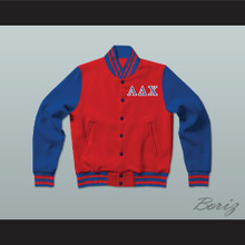 Alpha Delta Chi Sorority Varsity Letterman Jacket-Style Sweatshirt