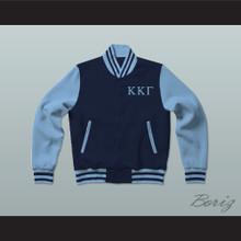Kappa Kappa Gamma Sorority Varsity Letterman Jacket-Style Sweatshirt