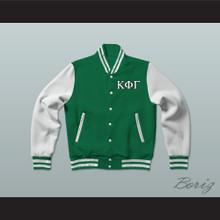 Kappa Phi Gamma Sorority Varsity Letterman Jacket-Style Sweatshirt