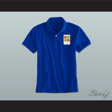 Troy Bolton Lava Springs Country Club Golf Blue Polo Shirt