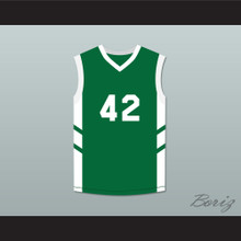 Vin Baker 42 Green Basketball Jersey Dennis Rodman's Big Bang in PyongYang