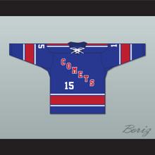 Jack Kane 15 Utica Comets Tie Down Hockey Jersey