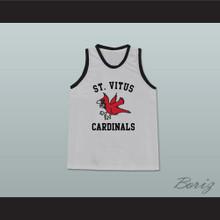 Mark Wahlberg Mickey St Vitus Cardinals Gray Basketball Jersey The Basketball Diaries