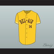 Fresh Prince Will Smith 14 Bel-Air Academy Baseball Jersey Stitch Sewn