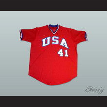 Mark McGwire USA Team Baseball Jersey New Any Size or Player