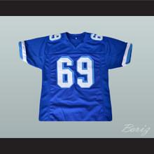 Billy Bob 69 West Canaan Coyotes Football Jersey Varsity Blues
