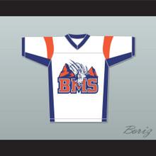 Alex Moran 7 Blue Mountain State Goats Football Jersey Stitch Sewn White