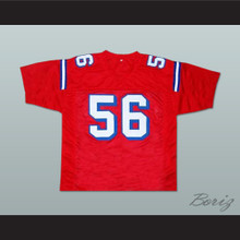 Jon Favreau Daniel Bateman 56 Sentinels Football Jersey The Replacements