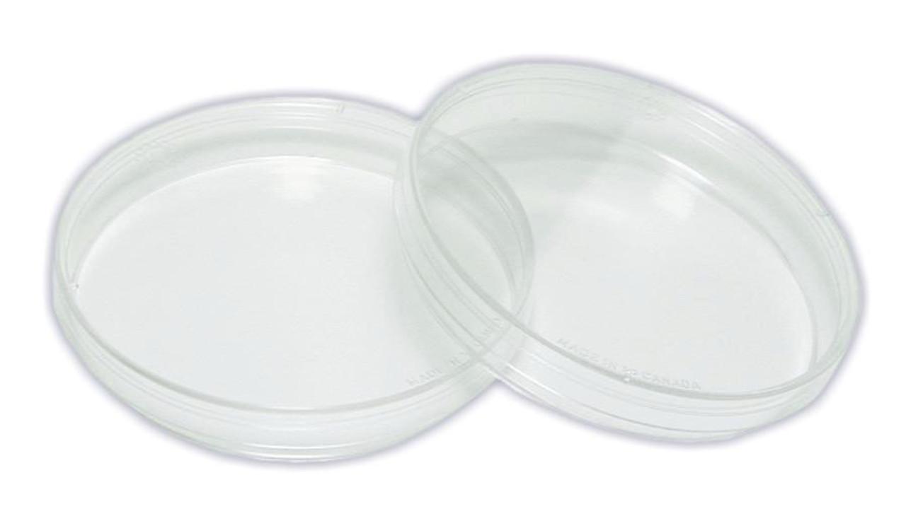 Petri dishes, plastic, 2/pack