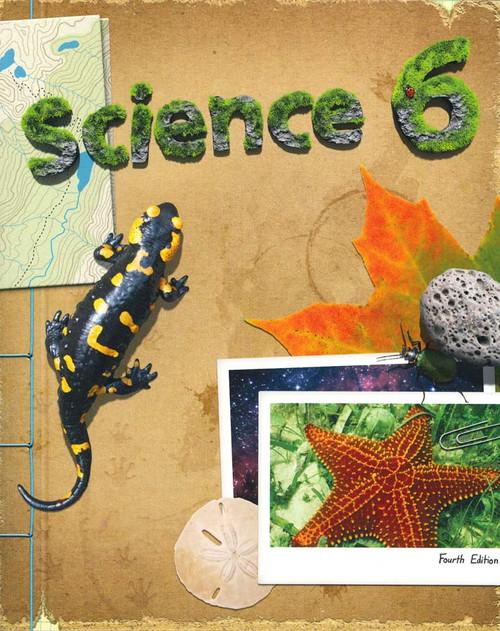 bob jones science 6 student text book