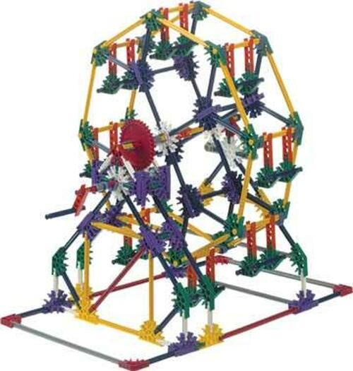 k nex motorized ferris wheel instructions