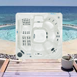 Discount hot tub spas for 2-8 persons.