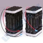 GE OEC 5305184 Battery 2pc Set 192v 2.5Ah Cyclon Lead Acid