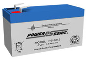 Power-Sonic PS-1212 12V 1.4Ah Battery