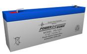 Power-Sonic PS-1220 12V 2.5Ah Battery