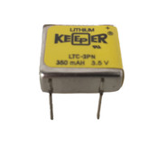 Eagle Picher LTC-3PN 3.5V 350mah Keeper Battery