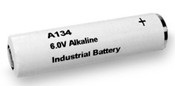 A134 Exell 6V Alkaline Battery