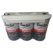 Enersys Cyclon 0810-0102 Battery - 6V 2.5Ah Sealed Lead Rechargeable (Shrink Wrap)